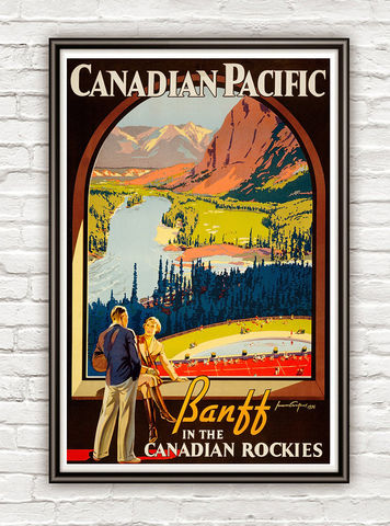 Vintage,Poster,of,Canadian,Pacific,1936,Tourism,poster,travel,Art,Reproduction,Open_Edition,vintage_poster,travel_poster,oldcityprints,texas,canada,canadian_pacific,canada_poster,canada_gift,canada_decor,canada_vintage,retro_canada
