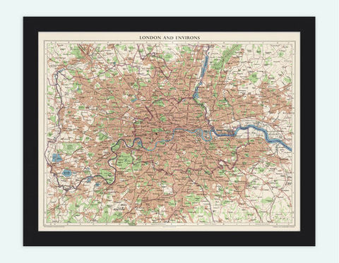Old,Map,of,London,England,UK,1955,Art,Reproduction,Open_Edition,city,vintage,illustration,gravure,vintage_map,city_plan,england,united_kingdom,london,old_map,engraving,london_map,antique_map