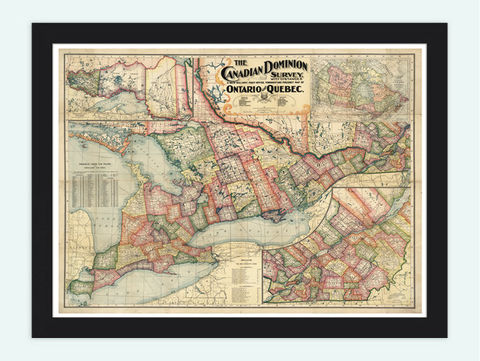 Old,Map,of,Quebec,Ontario,1899,Canada,Vintage,Art,Reproduction,Open_Edition,old_map,canada,antique_map,vintage_map,ontario,quebec,canadian,north_america,old_map_of_canada,canada_map,quebec_map