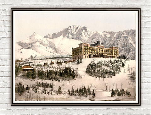 Vintage,Photo,of,Grand-H??tel,de,Caux,,Montreux,,,Switzerland,1895,Art,Reproduction,Open_Edition,travel_poster,picturesque,old_photo,switzerland,suisse_decor,switzerland_art,switzerland_vintage,switzerland_poster,caux,montreux