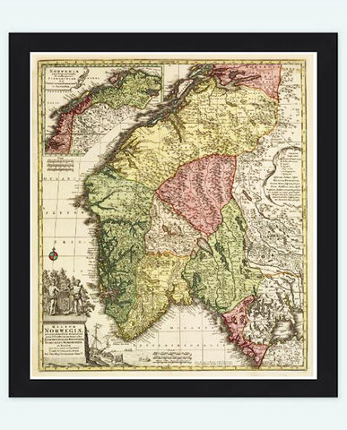 Old,Map,of,Norway,Norwegian,1770,Vintage,Art,Reproduction,Open_Edition,sweden,norway,scandinavia,old_map_of_norway,norway_map,antique_map,scandinavia_map,old_map_norway,norway_vintage,medieval_norway,norwegian,oslo_map,antique_map_norway