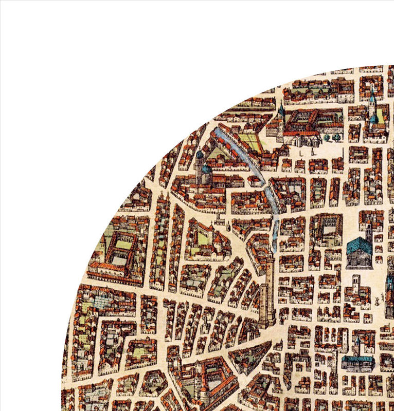 BOLOGNA - city poster - city map poster print - product image