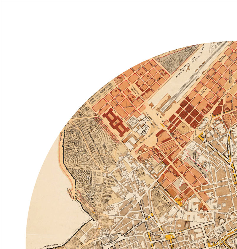 ROME - city poster - city map poster print - product images  of