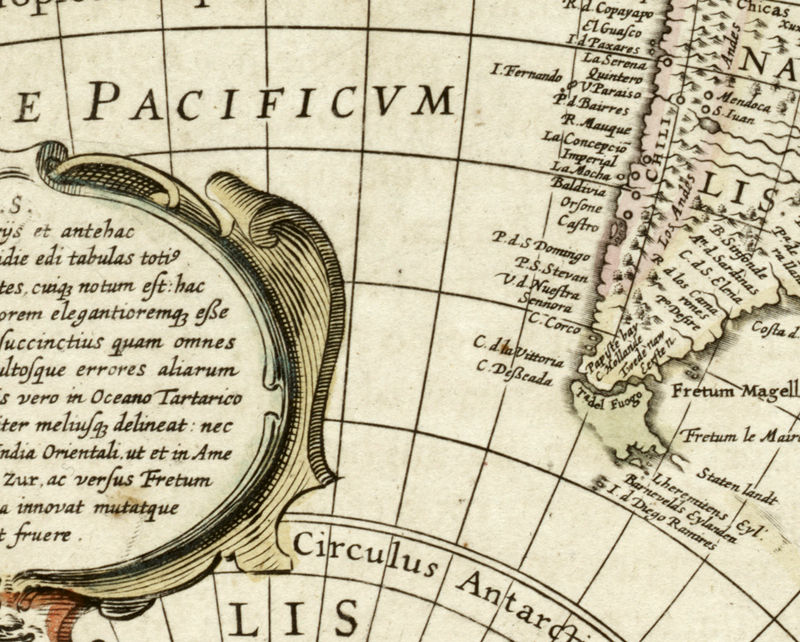 Old World Map antique 1641 - product image