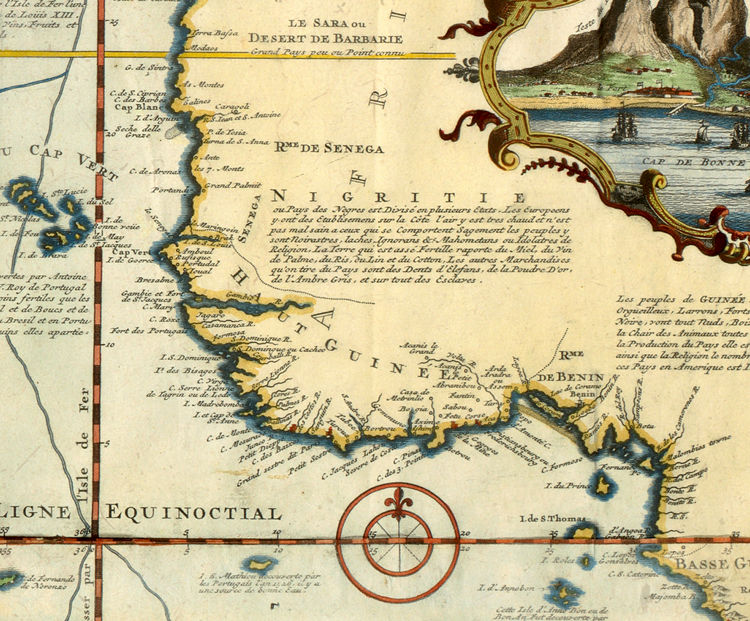 Old World Map 1719 New discoveries - product image