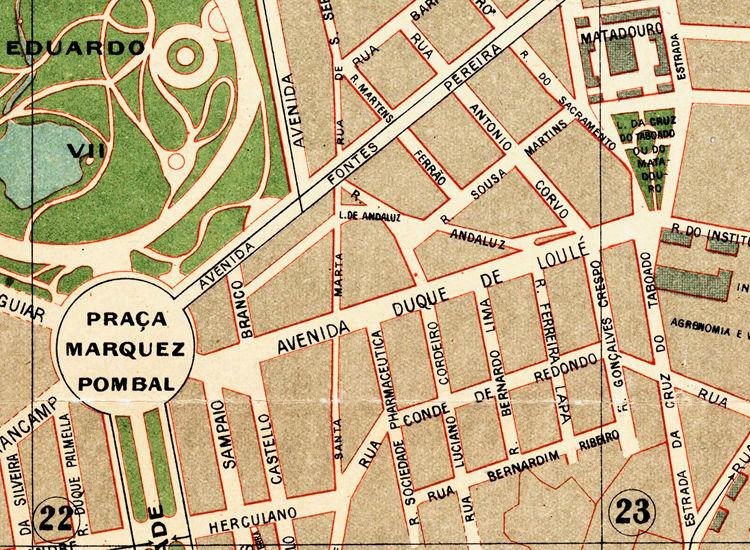 mapa antigo de lisboa Old Map of Lisbon Lisboa Portugal mapa antigo 1890   OLD MAPS AND  mapa antigo de lisboa