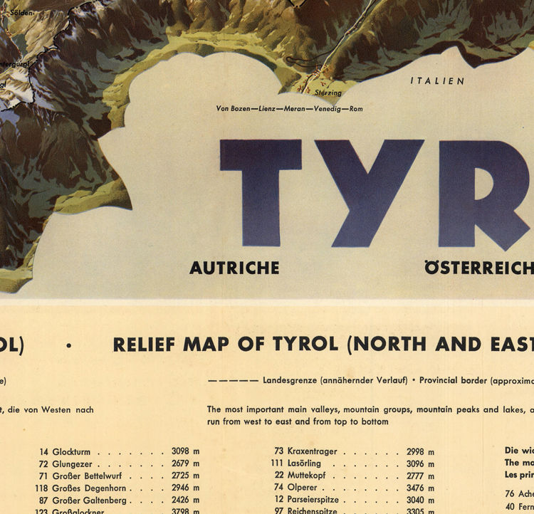 Vintage Poster of Tyrol Austria Travel Poster - product images  of