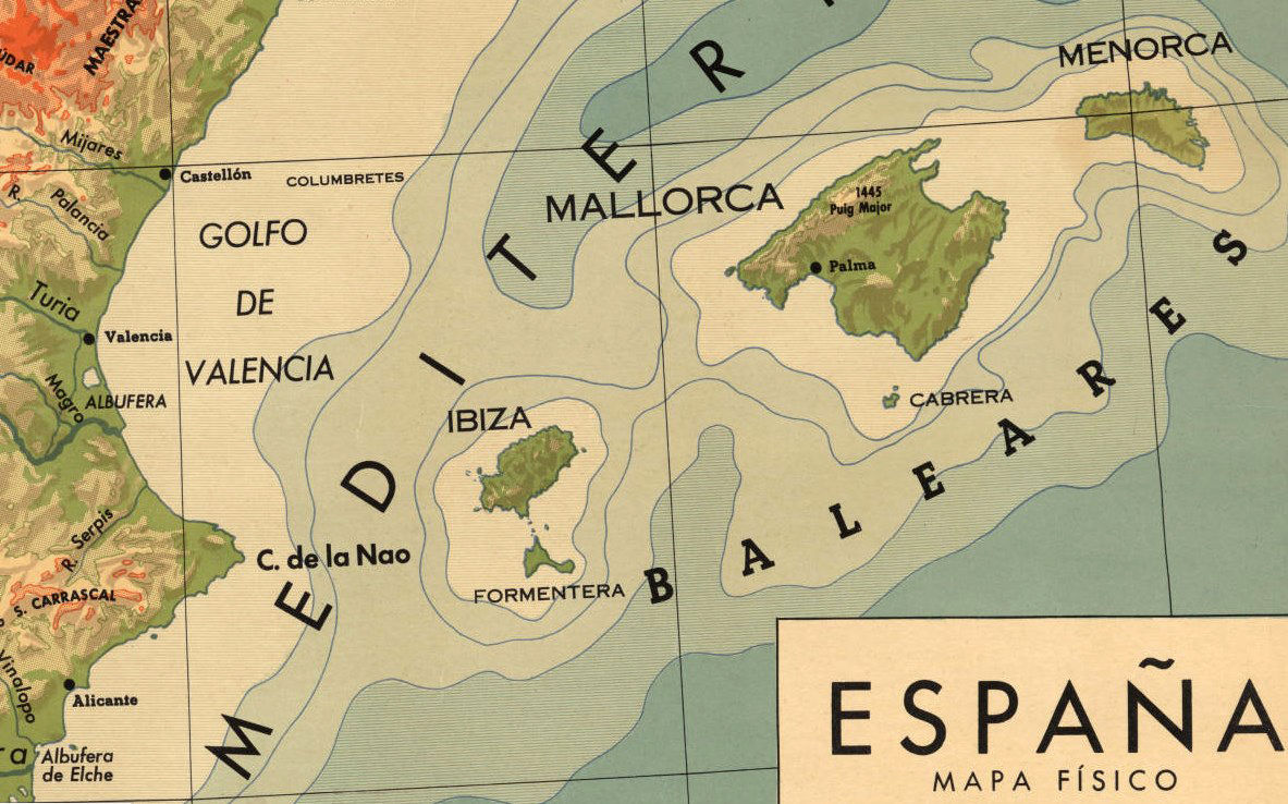 Old Map of Spain  - product images  of