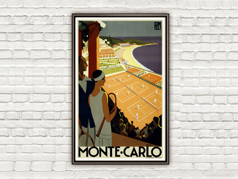 Vintage,Poster,of,Monte,Carlo,Monaco,1930,Tourism,poster,travel,Art,Reproduction,Open_Edition,vintage_poster,travel_poster,marseille_vintage,france_vintage,monaco_decor,monaco_tourism,monte_carlo,monaco_retro,tenis,monte_carlo_poster,monaco,monaco_travel