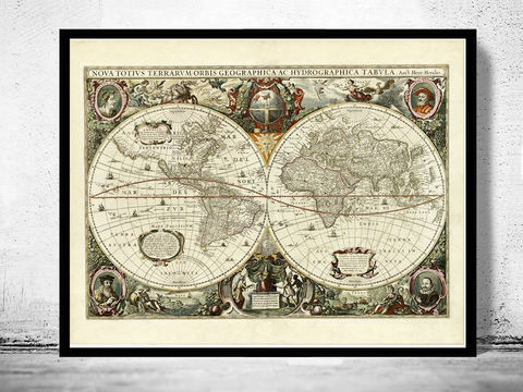 Old,World,Map,1641,Antique,old map of the world, old maps online, old maps for sale, wall map art, world map poster,Art,Reproduction,Open_Edition,World_map,atlas,Asia,europe,america,oceania,vintage_map,old_world_map,globe,antique_map,antique_world_map,world_old_map,map_of_the_world