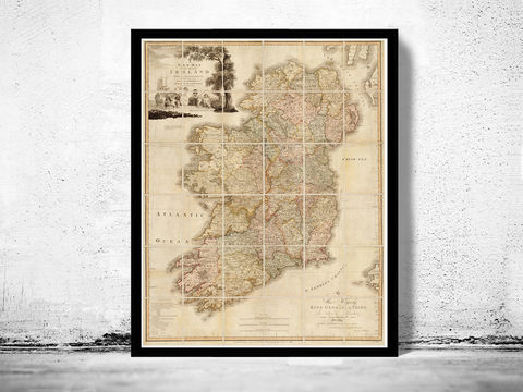 Antique,Map,of,Ireland,1797,Beautiful,old,map,Art,Reproduction,Open_Edition,United_Kingdom,old_map,map_of_ireland,ireland_map,medieval,irish,ireland_poster,vintage_map,antique_ireland_map,vintage_ireland,dublin,ireland_retro