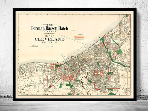 Old,Map,of,Cleveland,and,suburbs,1912,Vintage,old maps for sale, maps reproductions,Art,Reproduction,Open_Edition,United_States,city_map,retro,antique,old_map,vintage_map,cleveland_map,cleveland,map_of_cleveland,cleveland_vintage,cleveland_retro,cleveland_poster,cleveland_maps