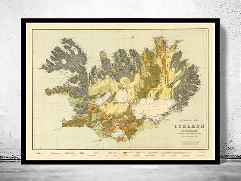 Old,Map,of,Iceland,islandia,1898,Geological,map,Art,Reproduction,Open_Edition,old_map,antique,illustration,indian,vintage_map,iceland,island,iceland_map,map_of_iceland,iceland_poster,vintage_poster,vintage_iceland