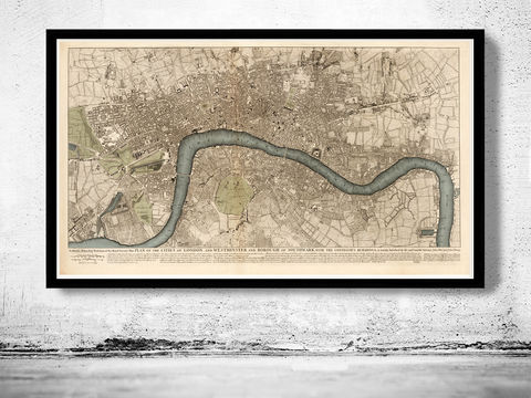 Beautiful,Old,London,Map,1749,,England,United,Kingdom,map reproduction, old maps for sale, london map, map of london, london poster, Art,Reproduction,Open_Edition,city,vintage,illustration,gravure,vintage_map,city_plan,england,united_kingdom,london,old_map,engraving,london_map,old_map_of_london