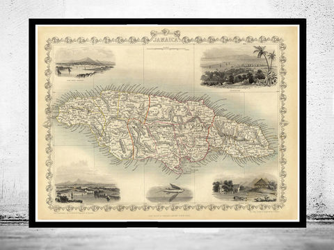 Old,Map,of,Jamaica,1851,Vintage,Art,Reproduction,Open_Edition,vintage,old_map,vintage_map,japan_art,asia,jamaican,jamaica,map_of_jamaica,jamaica_decor,jamaica_map,jamaica_poster,kingston,old_jamaica