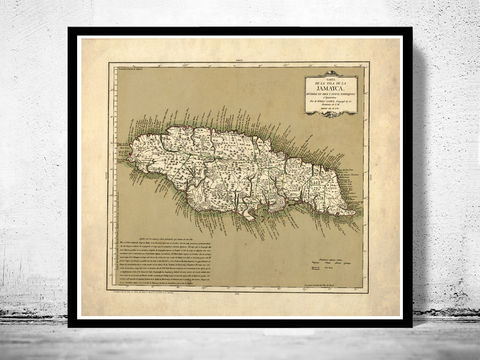 Vintage,Old,Map,of,Jamaica,,1780,,Antique,map,Jamaica,Art,Reproduction,Open_Edition,vintage,old_map,vintage_map,japan_art,asia,jamaican,jamaica,map_of_jamaica,jamaica_decor,jamaica_map,jamaica_poster,kingston,old_jamaica