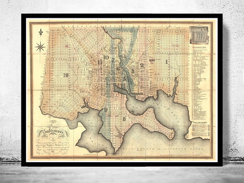 Old,Map,of,Baltimore,Antique,map,Maryland,Vintage,1827,Art,Reproduction,Open_Edition,vintage,illustration,United_States,city_map,maryland,baltimore,old_map,city_plan,vintage_map,baltimore_map,baltimore_poster,antique_map