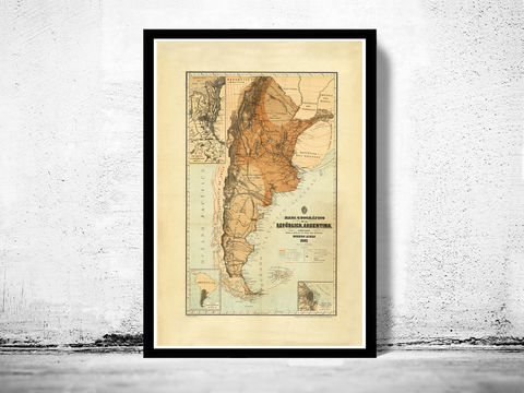 Old,Map,Argentina,1882,Vintage,Art,Reproduction,Open_Edition,old_map,South_America,argentina,map_of_argentina,argentina_map,argentina_poster,vintage_map,antique_map,republica_argentina