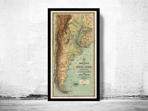 Old,Map,Argentina,South,America,Antique,map,1890,Art,Reproduction,Open_Edition,old_map,South_America,argentina,map_of_argentina,argentina_map,argentina_poster,vintage_map,antique_map,republica_argentina