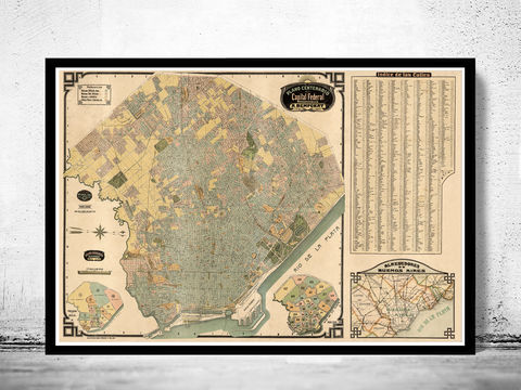 Buenos,Aires,Great,Old,Map,,Argentina,1920,Vintage,map,of,Art,Reproduction,Open_Edition,vintage_map,city_plan,old_map,streets,plano_ciudad,buenos_aires,map_of_buneos_aires,buenos_aires_decor,argentina_map,buenos_aires_poster,argentina_retro,buenos_aires_map,argentina_art