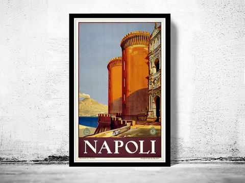 Vintage,Poster,of,Napoli,Italy,1920,Tourism,poster,travel,Art,Reproduction,Open_Edition,vintage_poster,Italia_tourism,italy,italy_vintage,travel_poster,italy_travel,italien_decor,toscana_poster,riviera_poster,napoli,napoli_poster