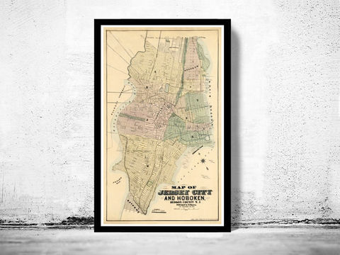 Old,Map,of,Jersey,City,and,Hoboken,,,Hudson,County,1882,Art,Reproduction,Open_Edition,United_States,city_map,retro,antique,old_map,vintage_map,jersey_city,jersey_map,jersey_hoboken,hoboken,hudson_county,jersey_maps,map_of_jersey