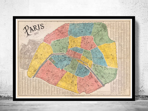 Old,Map,of,Paris,France,1867,Vintage,paris, old map of paris, paris poster, oaris retro, vintage paris,Art,Reproduction,Illustration,france,vintage_map,old_map_of_paris,paris_map,map_of_paris,paris_poster,antique_paris,vintage_paris,paris_retro,old_paris,paris_plan,paris_decor