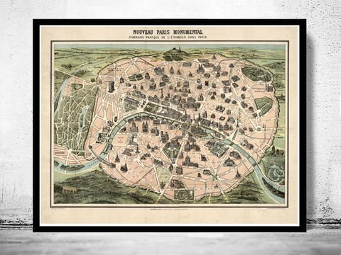 Old,Map,of,Paris,Monumentale,,France,1878,Art,Reproduction,Open_Edition,paris_map,map_of_paris,old_map_of_paris,paris_vintage_map,paris_retro,paris_map_guide,monumental_paris,paris_poster,paris_poster_vintage,old_paris,paris_france,paris_gift,paris_wall_decor