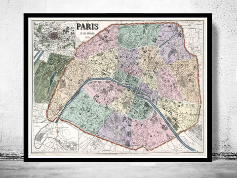 Old,Map,of,Paris,,France,1878,paris, old map of paris, paris poster, oaris retro, vintage paris,Art,Reproduction,Illustration,france,vintage_map,old_map_of_paris,paris_map,map_of_paris,paris_poster,antique_paris,vintage_paris,paris_retro,old_paris,paris_plan,paris_decor