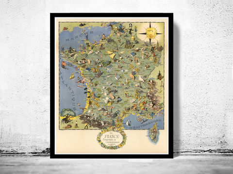 Old,Map,of,France,Gastronomy,Tourism,Poster,Vintage,la france touristique et gastronomique, historical_map,vintage_map,vintage_poster,map_of_france,france,switzerland,old_map_france,france_poster,carte_gastronomique,gastronomy_france,france_vintage,france_country_map,paris_vintage