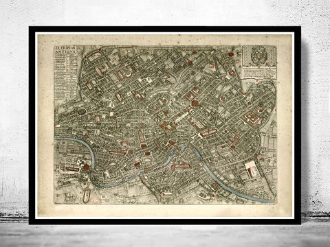 Old,Map,City,Plan,of,Rome,Roma,,Italia,1773,Antique,Vintage,Italy,Art,Reproduction,Open_Edition,city_map,retro,antique,Europe,rome,roma,italy,italia,vintage_map,city_plan,old_map,map_of_rome,rome_map