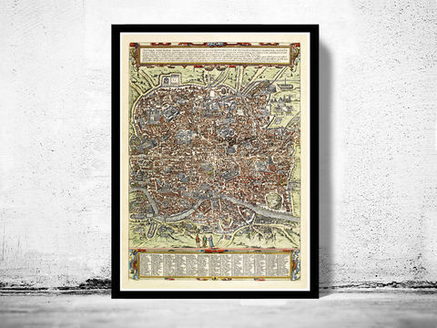 Old,Map,of,Rome,Roma,,Italy,1580,Antique,Vintage,Art,Reproduction,Open_Edition,rome,roma,italy,vintage_map,city_plan,old_map,map_of_rome,rome_map,rome_poster,rome_plan,roma_italia,antique_rome,roman