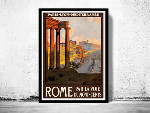 Vintage,Poster,of,Rome,Italy,Italia,1920,Tourism,poster,travel,Art,Reproduction,Open_Edition,vintage_poster,Rome_Vintage,Roma,Rome_decor,Italia_tourism,italy,old_rome,rome_ruins,rome_retro,rome_poster,italy_vintage,travel_poster