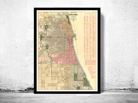 Old,Map,of,Chicago,1886,Vintage,Art,Reproduction,Open_Edition,vintage,United_States,retro,antique,business_district,old_map,vintage_map,vintage_poster,map_of_chicago,chicago_map,chicago_poster,chicago_vintage