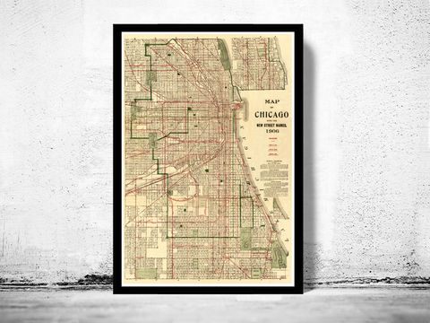 Old,vintage,map,of,Chicago,1906,Art,Reproduction,Open_Edition,United_States,retro,antique,business_district,old_map,vintage_map,vintage_poster,map_of_chicago,chicago_map,chicago_poster,chicago_vintage