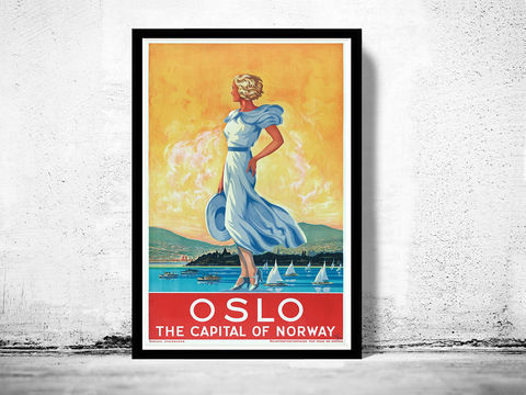 Vintage,Poster,of,Oslo,Norway,1930,Tourism,poster,travel,Art,Reproduction,Open_Edition,vintage_poster,travel_poster,oldcityprints,oslo,norway,oslo_travel,oslo_tourism,oslo_vintage,oslo_retro,oslo_poster,norway_poster