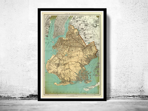 Old,Map,of,Brooklyn,1895,Art,Reproduction,Open_Edition,United_States,old_map,vintage_map,antique_map,manhattan_poster,brooklyn_vintage,brooklyn_map,ny_map,brooklyn_poster,antique_brooklyn,map_of_brooklyn,brooklyn_retro