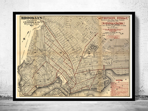 Old,Map,of,Brooklyn,1874,Art,Reproduction,Open_Edition,United_States,old_map,vintage_map,antique_map,manhattan_poster,brooklyn_vintage,brooklyn_map,ny_map,brooklyn_poster,antique_brooklyn,map_of_brooklyn,brooklyn_retro