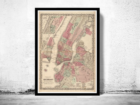 Old,Map,of,New,York,,United,States,1866,Manhattan,Art,Reproduction,Open_Edition,United_States,new_york,old_map,vintage_map,new_york_map,manhattan_map,antique_map,new_york_poster,manhattan_poster,brooklyn_vintage,brooklyn_map,ny_map