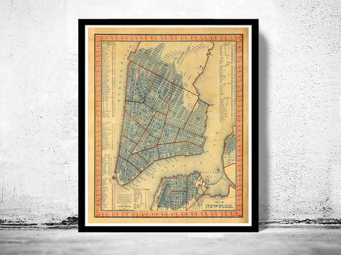 Old,Map,of,New,York,1846,Manhattan,Vintage,Art,Reproduction,Open_Edition,United_States,new_york,old_map,vintage_map,new_york_map,manhattan_map,antique_map,new_york_poster,manhattan_poster,brooklyn_vintage,brooklyn_map,ny_map
