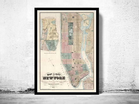 Old,Map,of,New,York,and,Vicinity,1877,Manhattan,Art,Reproduction,Open_Edition,United_States,new_york,old_map,vintage_map,new_york_map,manhattan_map,antique_map,new_york_poster,manhattan_poster,brooklyn_vintage,brooklyn_map,NY_map