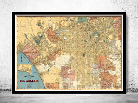 Old,Map,of,Los,Angeles,Art,Reproduction,Open_Edition,gravures,united_states,Los_Angeles,north_america,historic_map,old_map,vintage_map,los_angeles_map,map_of_los_angeles,vintage_poster,antique_map,los_angeles_poster,california_map