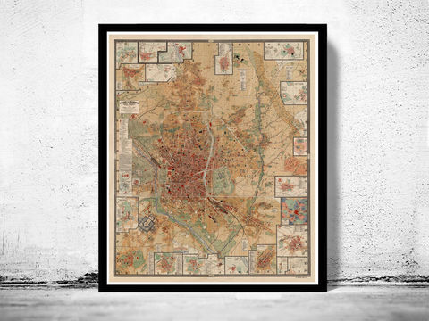 Old,Map,of,Madrid,1902,Spain,Vintage,Art,Reproduction,Open_Edition,gravure,vintage_map,city_plan,spain,Espana,1844,old_map,map_of_madrid,mapa,plano,mapa_de_madrid,old_map_of_madrid,madrid_plan, madrid map