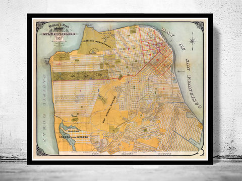 Old,Map,of,San,Francisco,1887,Art,Reproduction,Open_Edition,vintage,United_States,USA,city_map,retro,antique,San_Francisco,map_of_san_francisco,san_francisco_map,san_francisco_gift,francisco_vintage,san_francisco_city,san_francisco_retro, map of san francisco, san francisco map