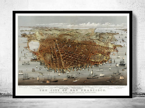 Vintage,Panoramic,View,of,San,Francisco,Birdseye,,,1878,Art,Reproduction,Open_Edition,city_map,retro,antique,birdseye,panoramic,san_francisco,san_francisco_poster,san_francisco_map,vintage_map,birdseye_view,san_francisco_plan,san_francisco_decor,san_francisco_city