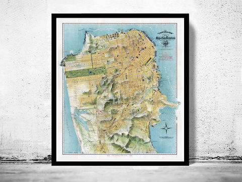Old,Map,of,San,Francisco,1912,The,Chevalier,Art,Reproduction,Open_Edition,vintage,United_States,USA,city_map,retro,antique,San_Francisco,map_of_san_francisco,san_francisco_map,san_francisco_gift,francisco_vintage,san_francisco_city,san_francisco_retro
