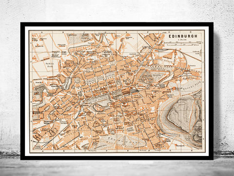 Old,Map,of,Edinburgh,Scotland,1890,Vintage,map,Art,Reproduction,Open_Edition,city_plan,old_map,engraving,streets,map_of_edinburgh,edinburgh_map,edinbourg,vintage_edinburgh,edinburgh_poster,edinburgh_wall_decor,edinburgh_decor,edinburgh_plan