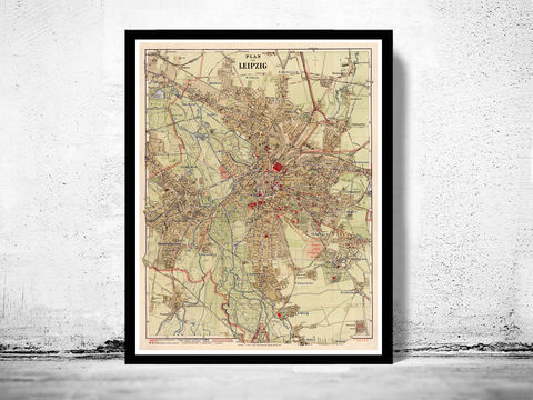 Old,Map,of,Leipzig,1925,Germany,Deutshland,leipzig map, map of leipzig, old map leipzig, leipzig, leipzig poster, leipzig germany, old map, deutshland,