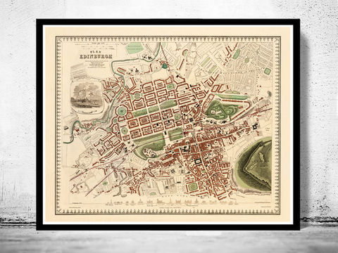 Old,Map,of,Edinburgh,1853,Edinbourg,with,gravures,,Scotland,Art,Reproduction,Open_Edition,vintage_map,city_plan,edinburgh,edinbourg,engraving,edinburgh_map,edinbourg_poster,edinburgh_decor,scotland_edinburgh,old_map_of_edinburgh,edinburgh_retro