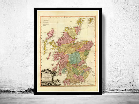 Old,Map,of,Scotland,1778,Vintage,Look,Art,Reproduction,Open_Edition,old_map,atlas,map_of_scotland,scotland_map,edinburgh,vintage_map_scotland,antique_map_scotland,retro,antique_map,vintage_map,scotish,decor